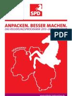 SPD Regierungsprogramm 2013 - 2018 | Kompakt