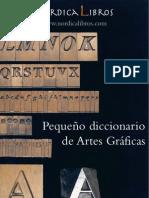 Pequeno Diccionario Artes Graficas