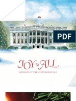 "White House Christmas ""Joy to All"" booklet"