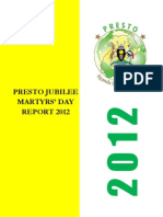 Naava Nabagesera Special Presidential Adviser_PRESTO Jubilee Martyrs Day 2012_Report