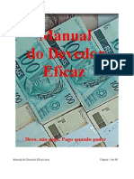 Manual Do Devedor Eficaz