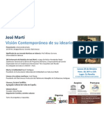 Jose Martí. Valencia 25 Octubre