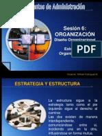 Sesion 6 Diseño Organizacional