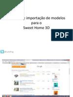 Tutorial de importação_SWEETHOME