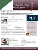 the gourmet scoop - september 2012