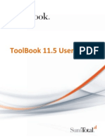 ToolBook 11.5 User Guide
