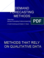 Demand Forecasting Methods