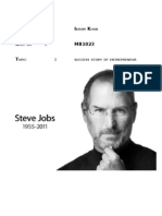 The Incredible Success Story of Steve Jobs