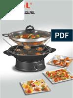 WO5000 Wok Fondue Asiatic Cuisine