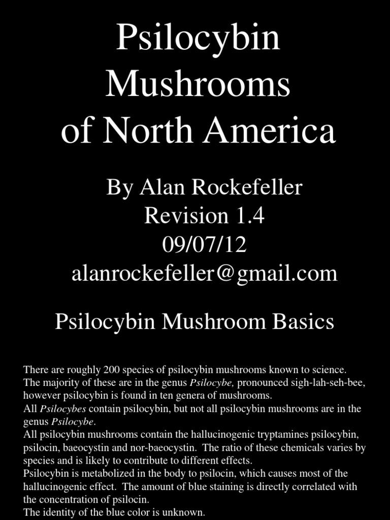 Psilocybin Mushrooms of North America | Psilocybin