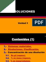 Unidad 3 Disoluciones