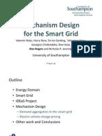 Mechanism Design for the Smart Grid