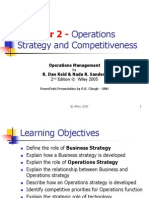 Chapter 2 Operations Strategy and Competitiveness1130