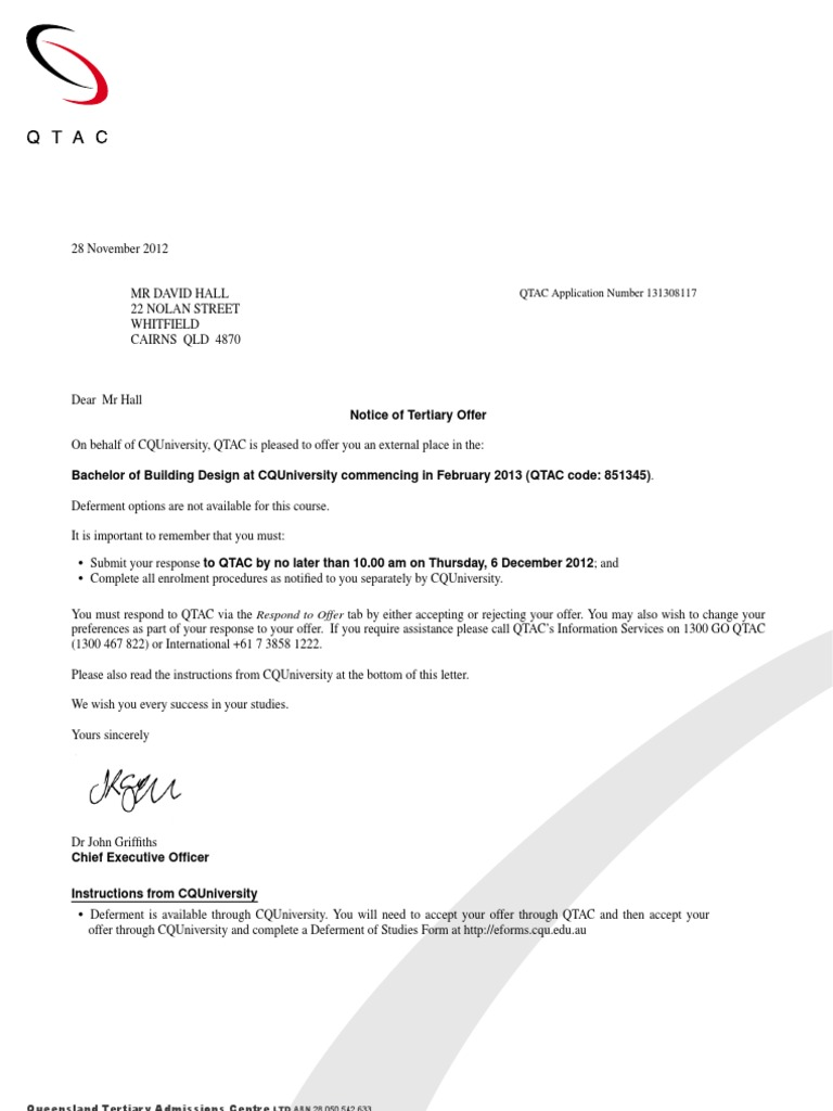 qtac cover letter
