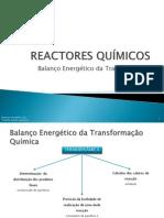 Balanco Energetico Da Transformacao Quimica