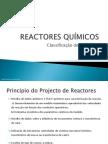 Classificacao de Reactores