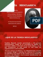 DIAPOSITIVAS TEORIA   NEOCLASICA (1)