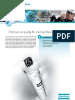 Información filtros PP, DD, PDp, DDp y QDT sin silicona.