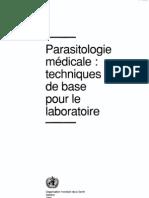 OMS.93 Parasitologie Med Tech Base Labo 9242544108