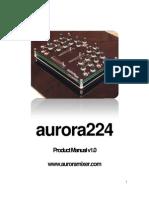 Aurora 224 Product Manual