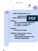 Note Circulaire 717 Tome3
