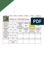December 2012 Specials