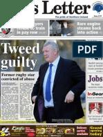 Belfast News Letter front page November 29