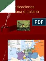 Unificaciones Alemana e Italiana