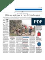 Ruta Chasquis Cusco
