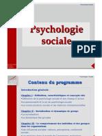 M1 Psychologie Sociale 2011-12