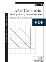 Enseñar geometría
