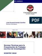 Norma Técnica Icontec - Referenciación