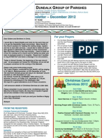 Parish Newsletter - December 2012