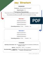 Compare contrast essay plan