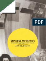 Grandes Modernos, Coleccion Peggy Guggenheim- Centro Cultura La Moneda Oct 2012 a Feb 2013
