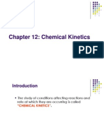 Chapt 12 - Chemical Kinetics