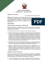 JURADO NACIONAL DE ELECCIONES RESTITUYE A ALCALDE DE CHICLAYO
