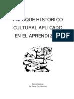 Enfoque Historico Cultural Aplicado Al Aprendizaje