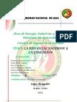 LA RED SOCIAL FACEBOOK Y LA EDUCACIÓN