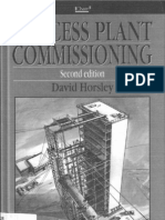 Process Commissioning Plant David Horsley