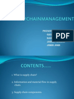 Supplychainmanagement Ppt for Om