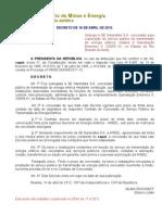 Decreto de 16-4-2012 - SE Narandiba