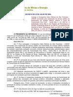 Decreto de 22-7-2009