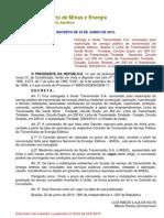 Decreto de 23-6-2010