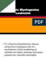 Chronic Myelogenius Leukemia