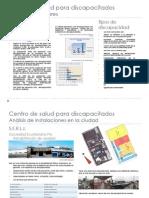 Parte 1 Bastidores propuesta urbana Centro de salud para Discapacitados - diseño III primer parcial - Maite Valverde