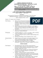 Struktur Personalia 2012-2013
