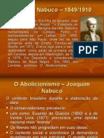 Abolicionismo Joaquim Nabuco
