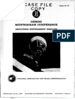 Gemini Mid Program Conference Including Experiment Results