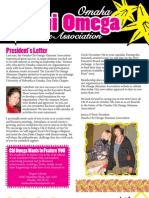 Omaha Chi Omega Alumnae Association Newsletter - Fall 2012 (2)
